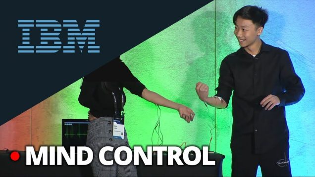 16-year-old demos Brain-Computer Interface to MIND-CONTROL someone else's arm  