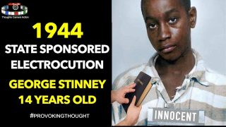 🇺🇸1944 STATE MURDER OF GEORGE STINNEY BY SITTING ON BIBLE