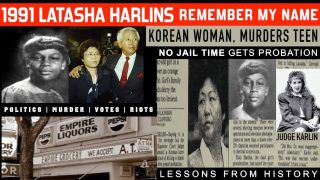 🇰🇵 1991 KOREAN WOMAN MURDERS NEGRO SCHOOL GIRL LATASHA HARLINS