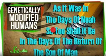 AS IT WAS IN THE DAYS OF NOAH SO TOO SHALL IT BE IN THE DAYS OF THE RETURN OF THE SON OF MAN