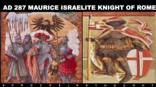 🇨🇭AD 287 MAURICE THE MOORISH (ISRAELITE) KNIGHT OF ROME #LESTWEFORGET