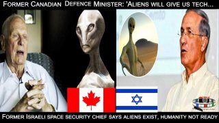 Aliens Exist? Former Israeli Chief & Canadian Defence Minister Confirm.