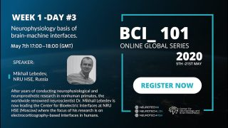 BCI_101 | Day 3 – 'Neurophysiology basis of brain-machine interfaces'