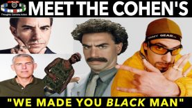 BORAT Meet The Cohen's | we made you black man