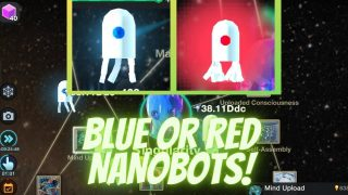 Cell to Singularity – Blue & Red Nanobots