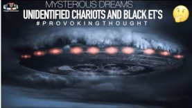 Chariots of Fire, Dark Skinned Extra Terrestrials #ProvokingThought