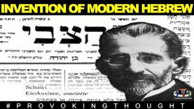 "🇱🇹ELIEZER BEN YEHUDA THE LITHUANIAN WHO INVENTED MODERN ""HEBREW"""