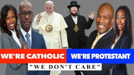 EXPOSED | CHURCHIANITY CATHOLIC PROTESTANT WE DON'T CARE 🔴🔵