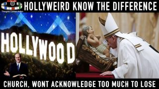 HOLLYWOOD KNOWS WHO YOU ARE BUT CHRISTIANITY WILL NOT TELL