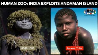 🇮🇳HUMAN ZOO INDIAN & EUROPEAN SCIENTIST EXPLOIT ANDAMAN ISLANDERS FOR