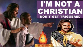 I AM NOT A CHRISTIAN (don't get triggered) 😱