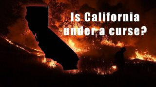 Is California under a C-urse, Reaping what they have sown?