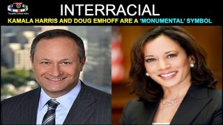 KAMALA HARRIS DOUG EMHOFF – AMERICAN/GLOBAL INTERRACIAL SYMBOL