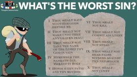 LIVE NOW: What's the WORST sin? SABBATH BIBLE STUDY