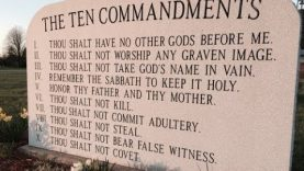 Mega Church Pastor says Ten Commandments don't apply to Christians