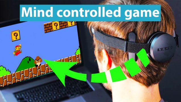 NEXTMIND – Brain Computer Interface Project. Mind controlled games and