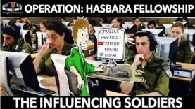 Operation: Hasbara Fellowships pays soldiers to tweet and influence #provokingthought