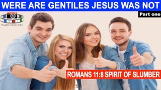 PART 1/3 WE ARE GENTILES – JESUS (YAHSHUA) WAS NOT
