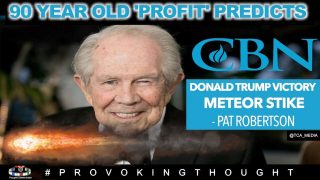 """PAT ROBERTSON 2020 PROPHECY """"DONALD TRUMP WILL WIN ELECTION"""" 