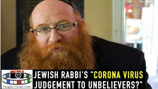 "RABBI ""THIS PLAGUE IS GOD'S JUDGMENT TO UNBELIEVERS"""