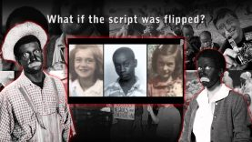 Racist system convicting inocent Black Men. Scene from Whited Out