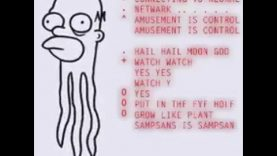 "Simpsons-Intro: ""Sampsans"" [transhumanism agenda hint]"
