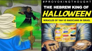 THE HEBREW KING OF HALLOWEEN 🤔 MIRACLES OF YAH VS