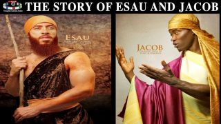 THE STORY OF 🦅 ESAU AND 🦁JACOB