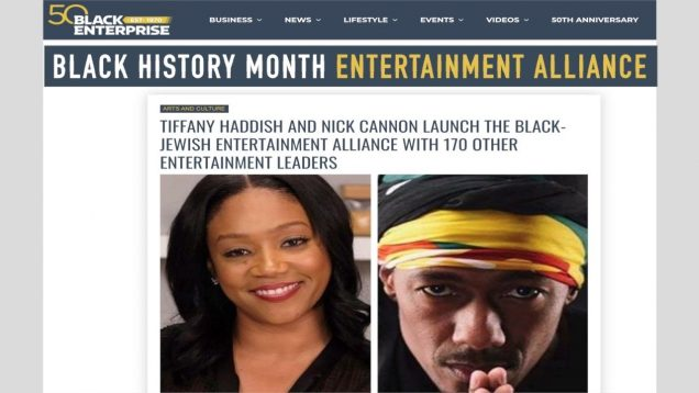TIFFANY HADDISH AND NICK CANNON LAUNCH ENTERTAINMENT ALLIANCE