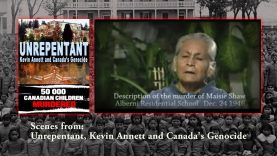 The truth about Christopher columbus, Canada Genocide. Scene from Whited