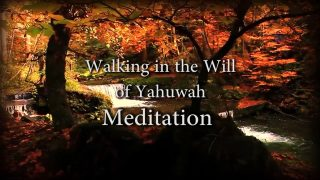 Walking in the Will of Yahuwah Meditation & Affirmation