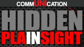 COMMUNICATION HIDDEN IN PLA-IN-SIGHT
