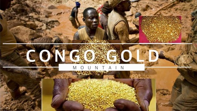CONGO GOLD MOUNTAIN DISCOVERED 2021