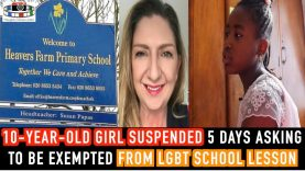 🇬🇧10 YEARS OLD GIRL suspended 5 DAYS asking to be
