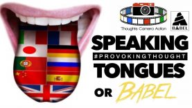 1/2 SPEAKING TONGUES OR BABEL?