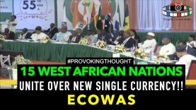 15 West African Nations UNITE OVER New SINGLE CURRENCY ECOWAS