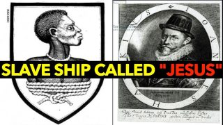 1562 🏴󠁧󠁢󠁥󠁮󠁧󠁿A SLAVE SHIP called 'JESUS' of Lübeck