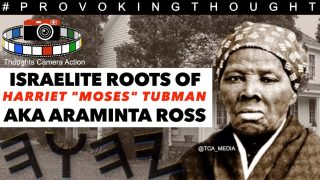 "🇺🇸 1849 ISRAELITE ROOTS OF HARRIET ""MOSES"" TUBMAN AKA ARAMINTA"