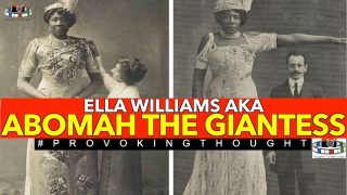 🇺🇸1865 ELLA WILLIAMS AKA ABOMAH THE GIANTESS