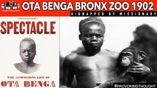 🇨🇩1902 OTA BENGA – BRONX ZOO KIDNAPPED BY PROTESTANT MISSIONARY