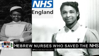 🇬🇧1950's HEBREW NURSES WHO SAVED THE NHS #PROVOKINGTHOUGHT