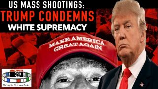 AMERICA'S MASS SHOOTINGS: PRESIDENT TRUMP CONDEMNS W/S OPENLY