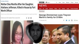 ATAIANA JEFFERSON'S MOM DIED? GEORGE ZIMMERMAN SUES TRAYVON FAMILY