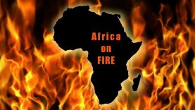 Africa is on fire and barely making the news