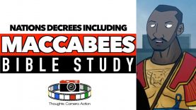 BIBLE STUDY: NATIONS DECREES INCLUDING MACCABEES