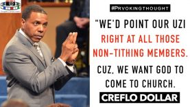 """🇺🇸CREFLO DOLAR: """" We'd point our uzi right at all"""