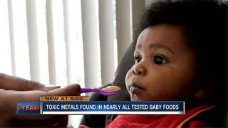 GENOClDE ALERT! Mom Uses Magnet To Prove Baby Food Is