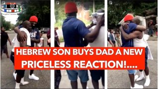 HEBREW SON BUYS DAD A NEW ……🎁….. PRICELESS REACTION 😯