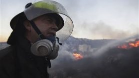 Israel battles the biggest Wild fire in its history –