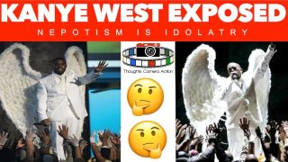 KANYE WEST EXPOSED NEPOTISM IS IDOLATRY.